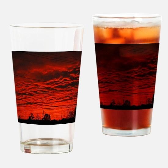 Delta Fiery Sunrise Drinking Glass