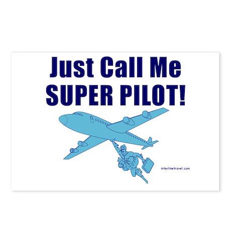 Super Pilot!! Postcards (Package of 8)
