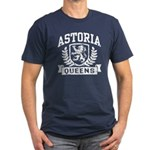 Astoria Queens Men's Fitted T-Shirt (dark)