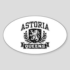 Astoria Queens Sticker (Oval)