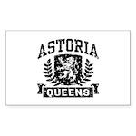 Astoria Queens Sticker (Rectangle)