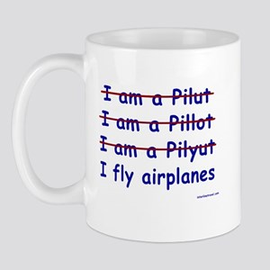 I Fly Airplanes Mug