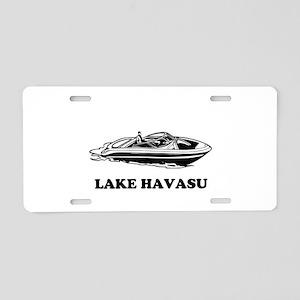 Lake Havasu Aluminum License Plate