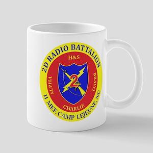 2nd Radio Battalion with Text Mug