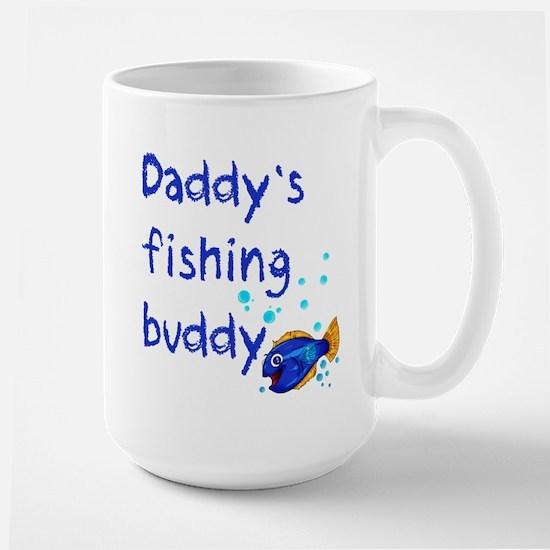 Daddy's Fishing Buddy Large Mug