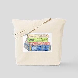 Jane Austen Books Tote Bag