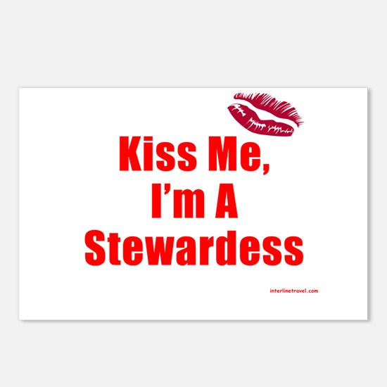 Kiss Me I Postcards (Package of 8)