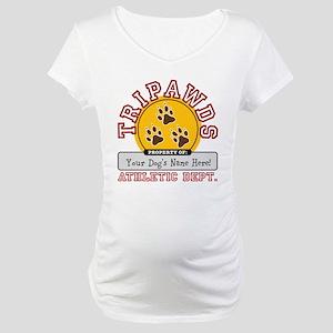 Tripawds Athletic Dept. Maternity T-Shirt