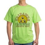 Tripawds Athletic Dept. Green T-Shirt