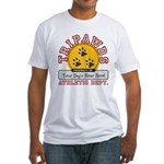 Tripawds Athletic Dept. Fitted T-Shirt