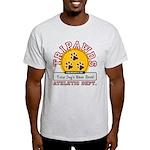 Tripawds Athletic Dept. Light T-Shirt