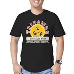 Tripawds Athletic Dept. Men's Fitted T-Shirt (dark