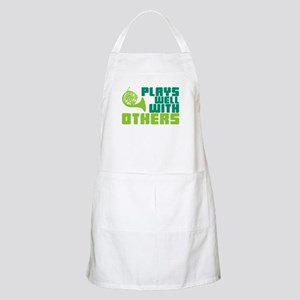 French Horn Plays Well Apron