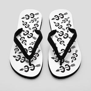 Cross Country Runner Flip Flops