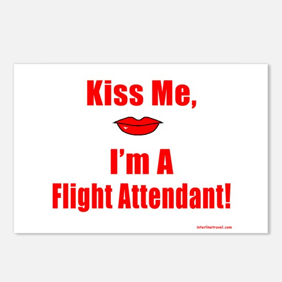 Kiss Me, IV Postcards (Package of 8)