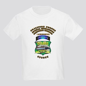SOF - CFSOCC Kids Light T-Shirt