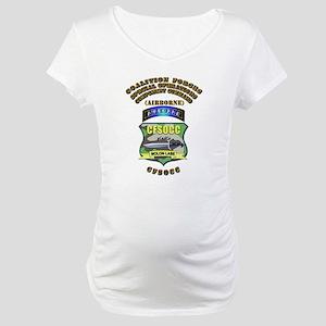 SOF - CFSOCC Maternity T-Shirt