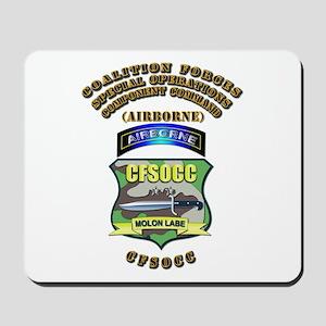 SOF - CFSOCC Mousepad