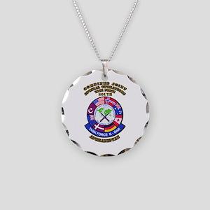 SOF - CJSOTF - South Necklace Circle Charm