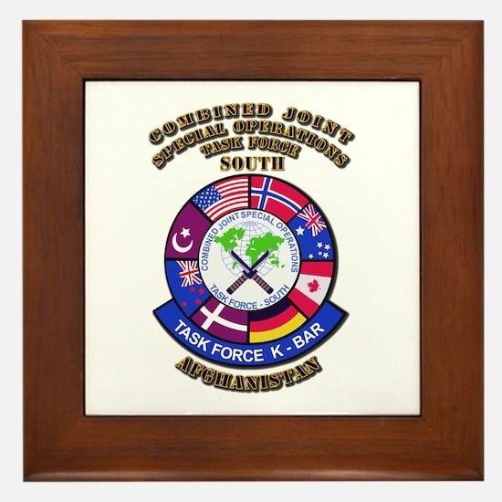 SOF - CJSOTF - South Framed Tile