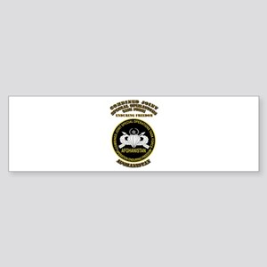 SOF - CJSOTF - Enduring Freedom Sticker (Bumper)