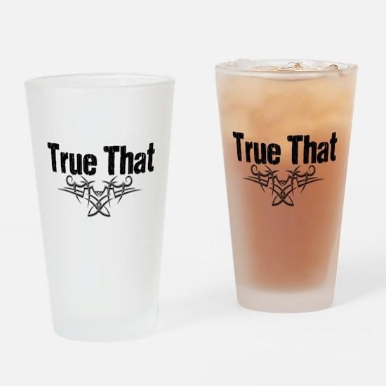 True That Lover V Drinking Glass
