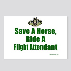 Save a Horse Postcards (Package of 8)