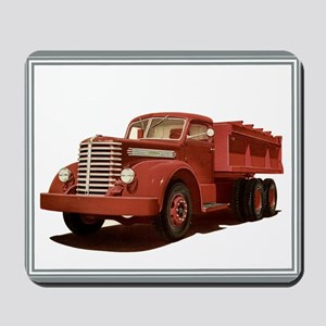 Old Diamond T Truck Mousepad