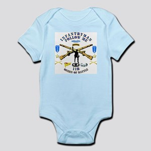 Infantry - Follow Me Infant Bodysuit