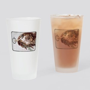 Michelangelo Code Drinking Glass