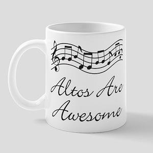 Alto Singer Gift Funny Mug