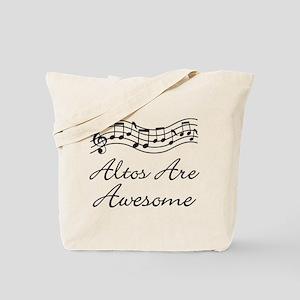 Alto Singer Gift Funny Tote Bag