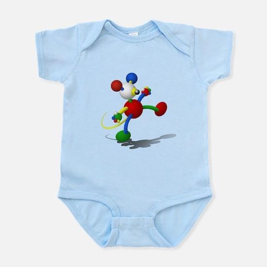 3D_critter_yellow-tail Infant Bodysuit