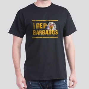 I rep Barbados Dark T-Shirt