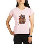Japanese Samurai Warrior Performance Dry T-Shirt