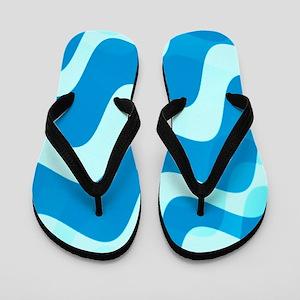 Water Waves Flip Flops