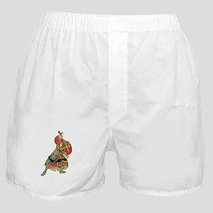 Japanese Samurai Warrior Boxer Shorts