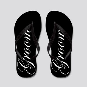 534086b83ff27 Wedding Flip Flops - CafePress