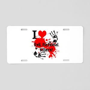 Killer Love Aluminum License Plate