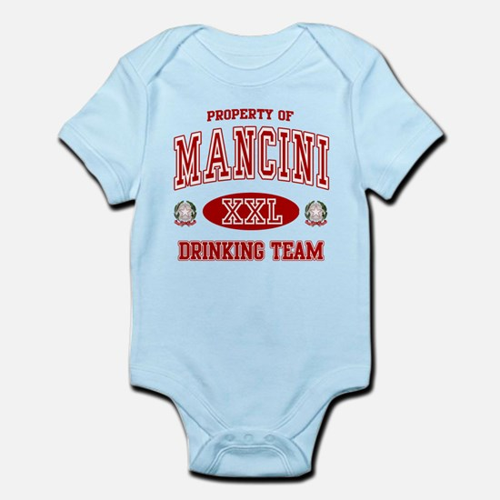 Mancini Italian Drinking Team Infant Bodysuit