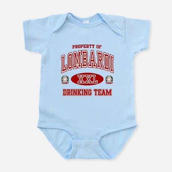 Lombardi Italian Drinking Team Infant Bodysuit