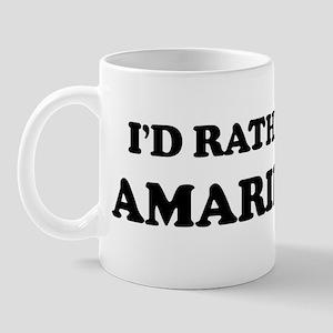 Rather be in Amarillo Mug