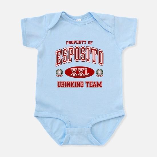 Esposito Italian Drinking Team Infant Bodysuit