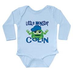 Little Monster Colin Long Sleeve Infant Bodysuit