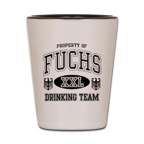 Fuchs German Drinking Team Shot Glass