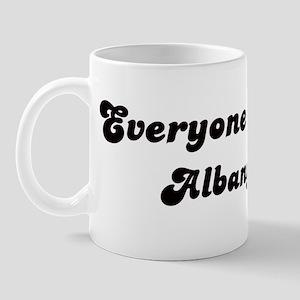 Loves Albany Girl Mug