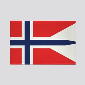 Norway State Flag Rectangle Magnet