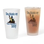 She Thinks My Feller's Sexy Drinking Glass