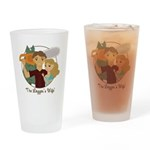 Logger's Wife Drinking Glass