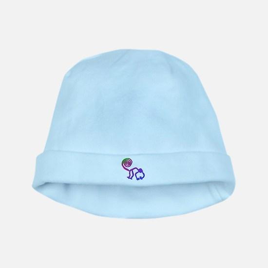 Nazca Monkey Groovy Colors baby hat
